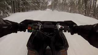 9. 2018 Polaris Switchback XCR 600 Flatt Rock rd