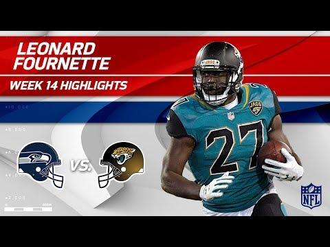 Video: Leonard Fournette Helps Lead Jags to Victory vs. Seattle! | Seahawks vs. Jaguars | Wk 14 Player HLs