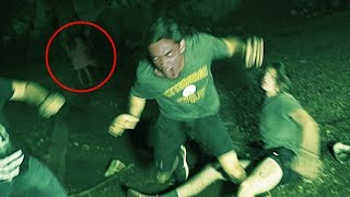 """REAL LIFE DEMONIC POSSESSION CAUGHT ON CAMERA AT HUNTSVILLE, ALABAMA'S DEAD CHILDREN'S PLAYGROUND. ACTUAL GHOST SIGHTING AND ALLEGED DEMONIC POSSESSION AT ONE OF THE NATION'S MOST HAUNTED PLACES. WATCH AND SEE THIS UNEXPLAINED PARANORMAL EVENT FOR YOURSELF.--Hey guys, we are back with another found footage horror film! We hope y'all enjoyed, filming this was incredibly interesting… Dead Children's Playground is a real place in our home town only about 3 minutes from where we live. We have always wanted to do a film at this location, but never really got around to. Now being in our new apartment and being so close, we absolutely had to. During production of this film, we had to visit the playground 3 times prior to the film date. Although nothing supernatural happened to the times we went leading up to this video, one did get an odd sensation when near the playground. On the film date, there were some odd things that happened. Nothing happened when filming the actual footage for the film, but afterwards something very out of the ordinary happened. Everyone involved was heading back to our vehicles through the cemetery that encloses the playground, when all of a sudden a woman appeared not 20 feet in front of us. We bolted and made it out okay, but it did raise many questions… We would love to make a behind the scenes video for this film, where we could explain everything in greater detail. Comment below if would like us to! And as always, THANKS FOR WATCHING!-Enjoy this video? Be sure to subscribe for more terrifying content coming very soon: http://bit.ly/1fea3eC ---CHECK OUT SOME OF OUR OTHER VIDEOS BELOW!!-CREEPY CLOWN SIGHTING CAUGHT ON CAMERA: https://www.youtube.com/watch?v=pWn1ZExXoQQ&oref=https%3A%2F%2Fwww.youtube.com%2Fwatch%3Fv%3DpWn1ZExXoQQ&has_verified=1-CREEPY CLOWN SIGHTING AT CARNIVAL CAUGHT ON CAMERA: https://www.youtube.com/watch?v=1ILWY8AnKak-KILLER CLOWN HALLOWEEN CLOWN PURGE: https://www.youtube.com/watch?v=yp1Q8pI5myY-Wartorn's previous film, """"Th"""