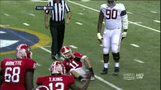 Aaron Murray vs Alabama (2012)