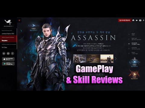 V4 Assassin GamePlay & Skill Reviews