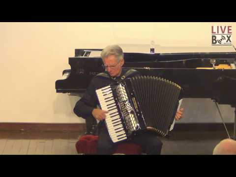 GINO CARBONARO ACCORDIAN RECITAL Part 1