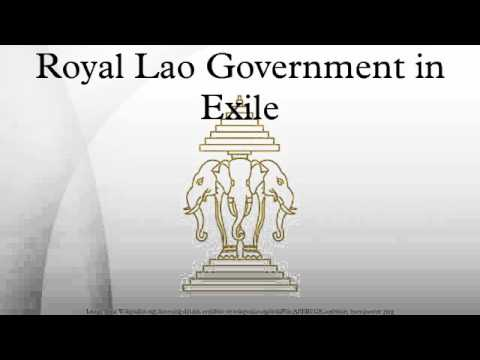 Royal Lao Government in Exile (видео)