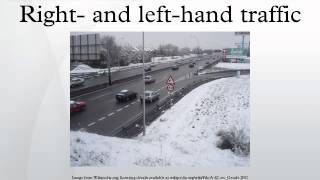 6. Right- and left-hand traffic
