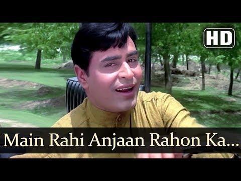 Main Raahi Anjaan Rahon Ka (HD) -  Anjaana Songs - Rajendra Kumar - Old Bollywood Songs