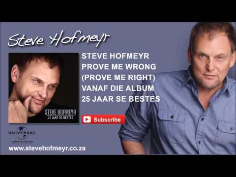 STEVE HOFMEYR – Prove Me Wrong