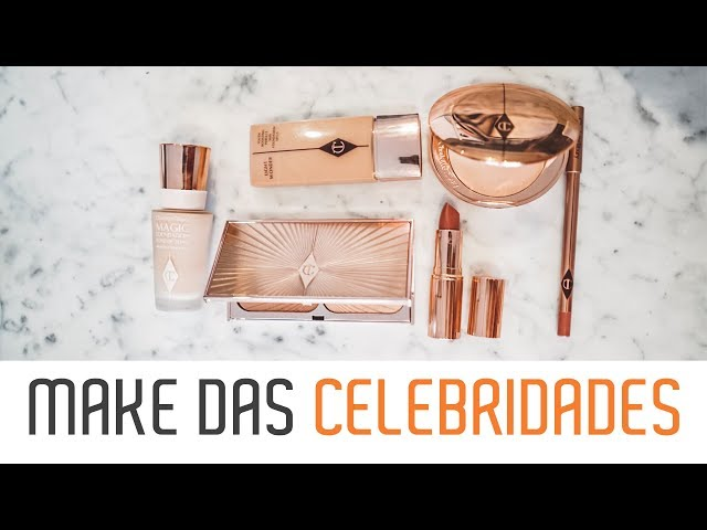 1000 REAIS DE MAKE! Testando Maquiagem Charlotte Tilbury - Luisa Accorsi