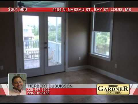 4154 N. Nassau St.  Bay St. Louis, MS Homes for Sale | gardnerrealtors.com