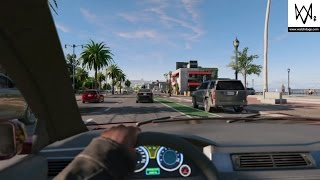 WATCH_DOGS 2™: Walking and driving normal (+First Person & N...