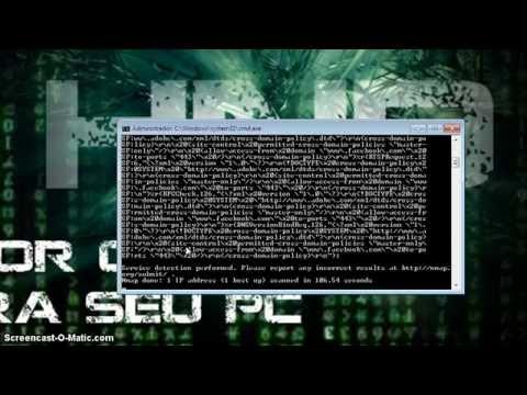 Windows 7 - NMAP - Comandos Básicos