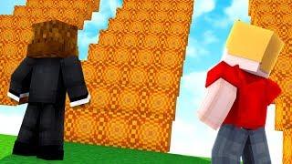 *NEW* Sunburst Lucky Block Staircase Race - Minecraft Modded Minigame | JeromeASF