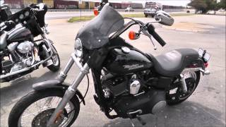 9. 318600 - 2007 Harley Davidson Dyna Street Bob FXDB - Used Motorcycle For Sale