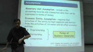 Principles Of Accounting - Lecture 01b