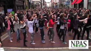 Glee Flashmob Dublin Ireland