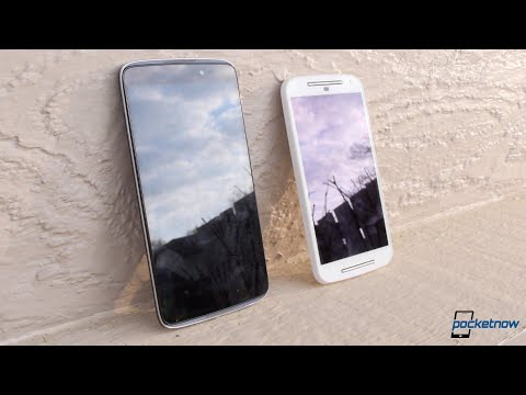 Alcatel OneTouch Idol 3 vs Moto G (2014)