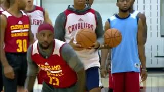 Kyrie Irving Highlights at Cavaliers 2017 Training Camp by NBA