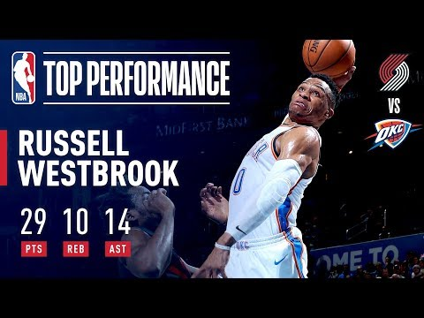 Video: Russell Westbrook RISES For His 14th Triple-Double Of The Season | January 22, 2019