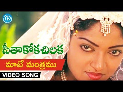 Video Maate Mantramu Video Song - Seethakoka Chiluka Movie   Karthik, Aruna   S.P.Balu   Ilaiyaraaja download in MP3, 3GP, MP4, WEBM, AVI, FLV January 2017