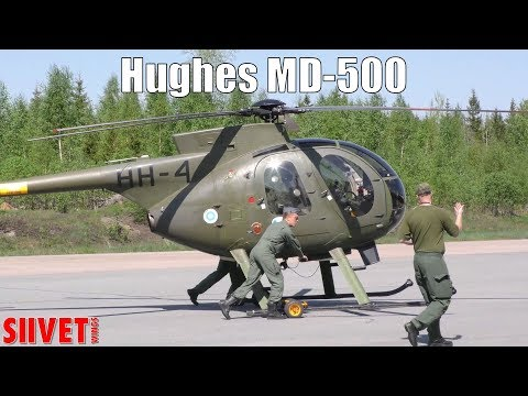 Finnish Army Hughes MD-500 Defender...