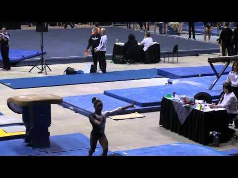 Simone Biles - 2012 Alamo Classic (Vault 2 - Amanar)