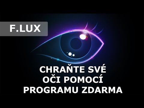 Chraňte své oči pomocí programu zdarma