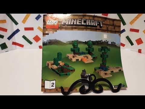 (Part 3) The Crafting Box 2.0, '2017' Lego Minecraft 21135