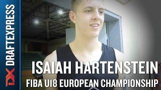 Isaiah Hartenstein 2015 FIBA U18 European Championship Interview