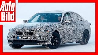 Erlkönig BMW 3er - Testfahrt im Schnee (2018) by Auto Bild