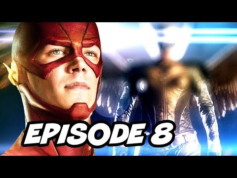 The Flash Season 2 Episode 8 - Arrow Crossover TOP 10 WTF and Easter Eggs