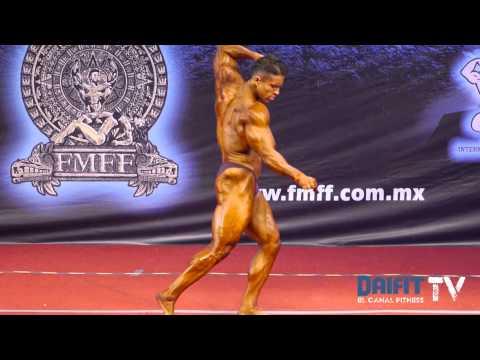 Ismael Estrada gana clasificados hasta 85 kg - Mr. México 2013