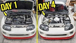 Video Rebuilding (And Heavily Modifying) A Stock 200,000 Mile Toyota Supra In 4 Days MP3, 3GP, MP4, WEBM, AVI, FLV Juni 2019