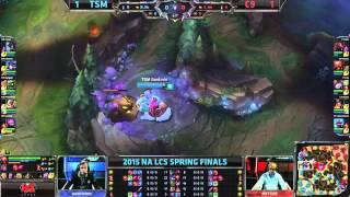 LCS NA Spring 2015 - Playoffs - Finale - TSM vs C9