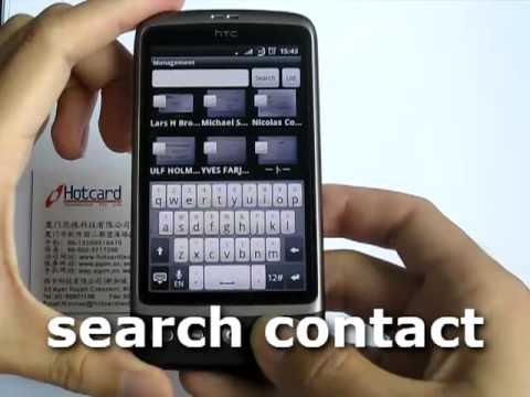 Video of ScanCard Bizcard Reader US/EU