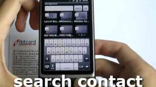 ScanCard Business Card Reader YouTube video