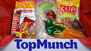 "TopMunch ""World's Flavors in a Box"", a monthly subscription that sends snacks from different countries right to your mailbox!Buy it here: http://www.topmunch.com/My Facebook https://www.facebook.com/xINVISIGOTHx"