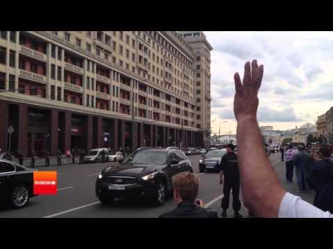 В Москве прошла акция в поддержку Алексея Навального. Полная версия.