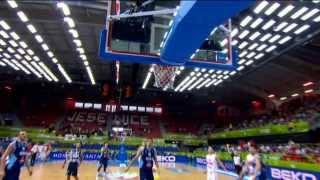 Play of the Game Sead Sehovic MNE-BIH EuroBasket 2013
