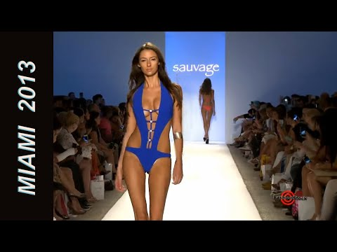 Sauvage – Mercedes-Benz Fashion Week Swim 2013 Runway Show SI top bikini models
