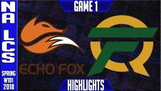 Video FOX vs FLY Highlights | NA LCS Spring 2018 S8 W1D1 | Echo Fox vs FlyQuest Highlights MP3, 3GP, MP4, WEBM, AVI, FLV Agustus 2018