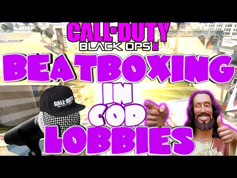 'TRAP GOD' - BEATBOXING IN COD LOBBIES EP.29 (BLACK OPS 2)