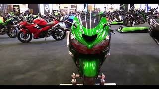 10. 2018 Kawasaki Ninja ZX 14R ABS |  Review, first impressions and Walkaround 2018  Motorcycle Show
