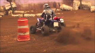 2. Our project Yamaha YFZ450R MX goes to the races.