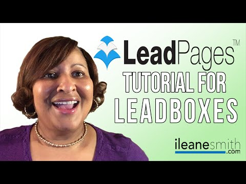 Watch 'LeadPages Tutorial: How To Install Email Optin Popups with LeadBoxes'