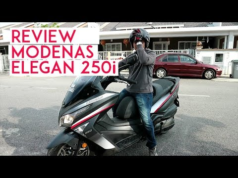 Review Modenas Elegan 250i