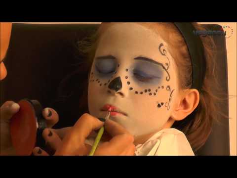 Skelita Monster High schmink video