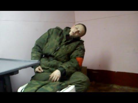 Как быстро разбудить солдата...