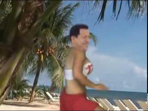 chavez bailando por la pulga !!! de los tupamaros video