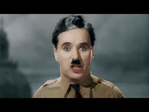 Charlie Chaplin - The Great Dictator-HD