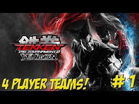 Tekken Tag Tournament 2: Wii U Edition! 4 Player Part 1 - YoVideogames