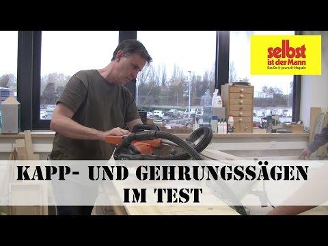 Kapp-  und Gehrungssägen Test